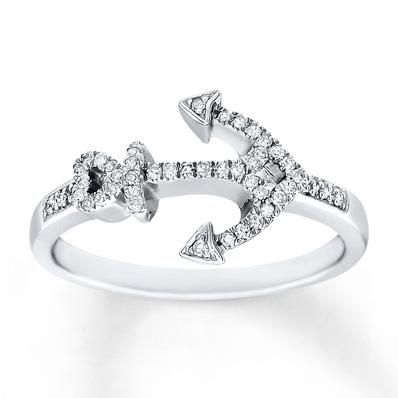 This diamond anchor is one you won't want to drop.
