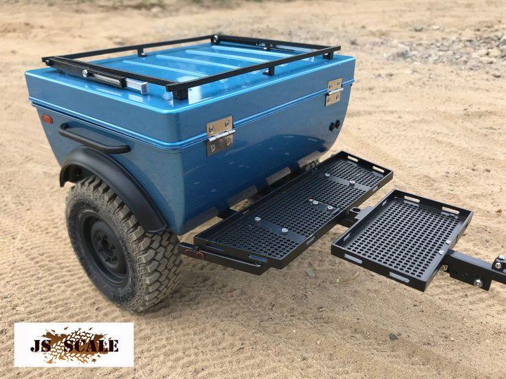 tent / trailer Scale 1/10 - jsscale.net   Caravane pliante ...
