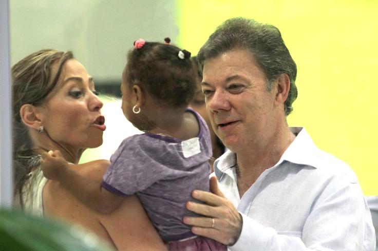 Presidente Juan Manuel Santos en la Inauguración del Complejo Social