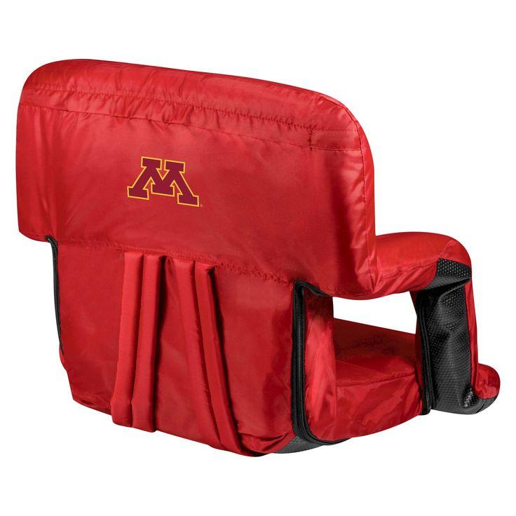 Portable Stadium Seats NCAA Minnesota Golden Gophers Red