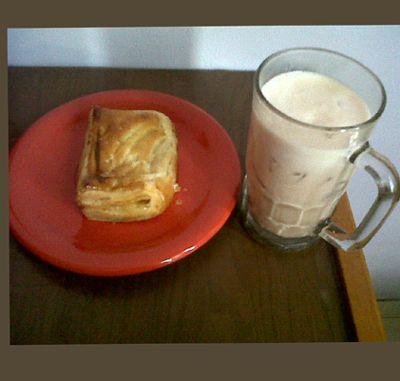 #breakfast #Nutrishake #applepie