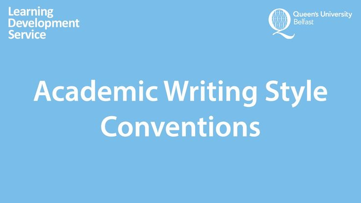 academic writing style definition dictionary