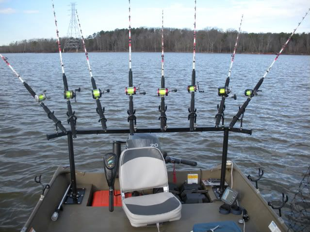 Best 25 rod holders for boats ideas on pinterest for Spider rigs for crappie fishing