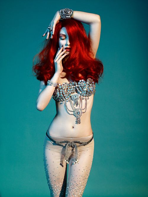 red muse #hair #woman