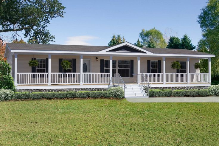 35 Front Porch Ideas For Mobile Homes Southern Living In 2020