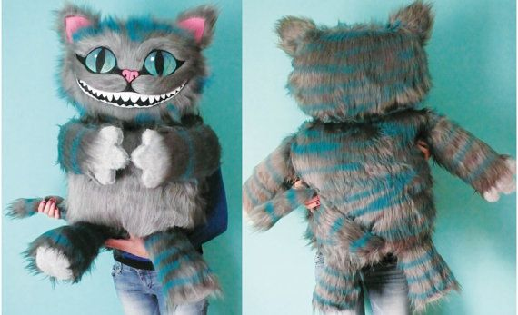 Cheshire cat soft toy with all the details Really big by MOLAPILA, $128.00
