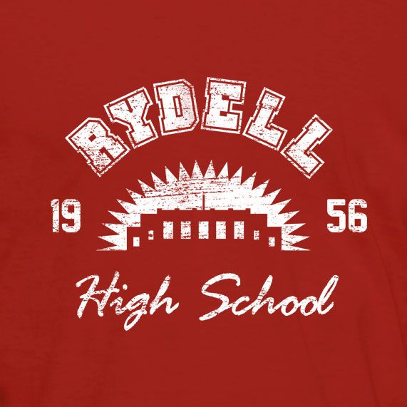 """Rydell High School. Inspired by the 1978 movie """"Grease"""". $20 #tshirt"""