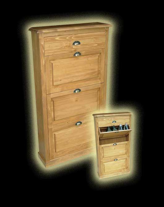Fenyőből készült cipősszekrény 2 vagy 3 ajtós kivitelben!  http://www.dbutor.hu/butorok/rusztikus-fenyo-butor/cipos-szekreny