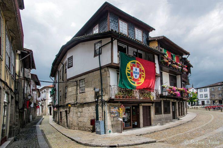 PT_160615 Portugali_0074 Guimarãesin vanhaa kaupunkia Região Nortessa