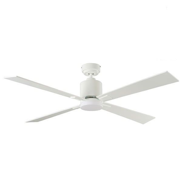 Quantum Dc Ceiling Fan With Light White 52 Aeroblade