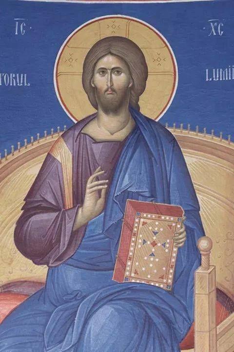 Romanian Iconographer Fr. Ilie Bobaianu  (480×720)