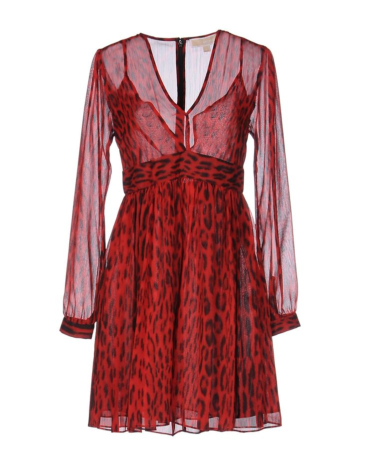 MICHAEL MICHAEL KORS Short dress Red women Dresses,michael kors sandals,world-wide renown,Michael Kors-women Dresses New York Outlet Online, Michael Kors-women Dresses Limited Time Special Offer, Great Price And Service