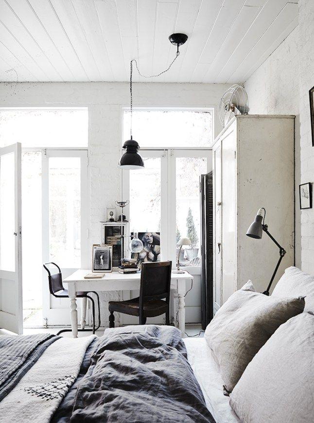 White bedroom design                                                                                                                                                                                 More