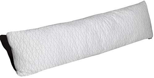 Amazon Com Coop Home Goods Memory Foam Body Pillow With Adjustable Shredded Memory Foam Perfect Pillow To Snug Pillows Body Pillow Memory Foam Body Pillow
