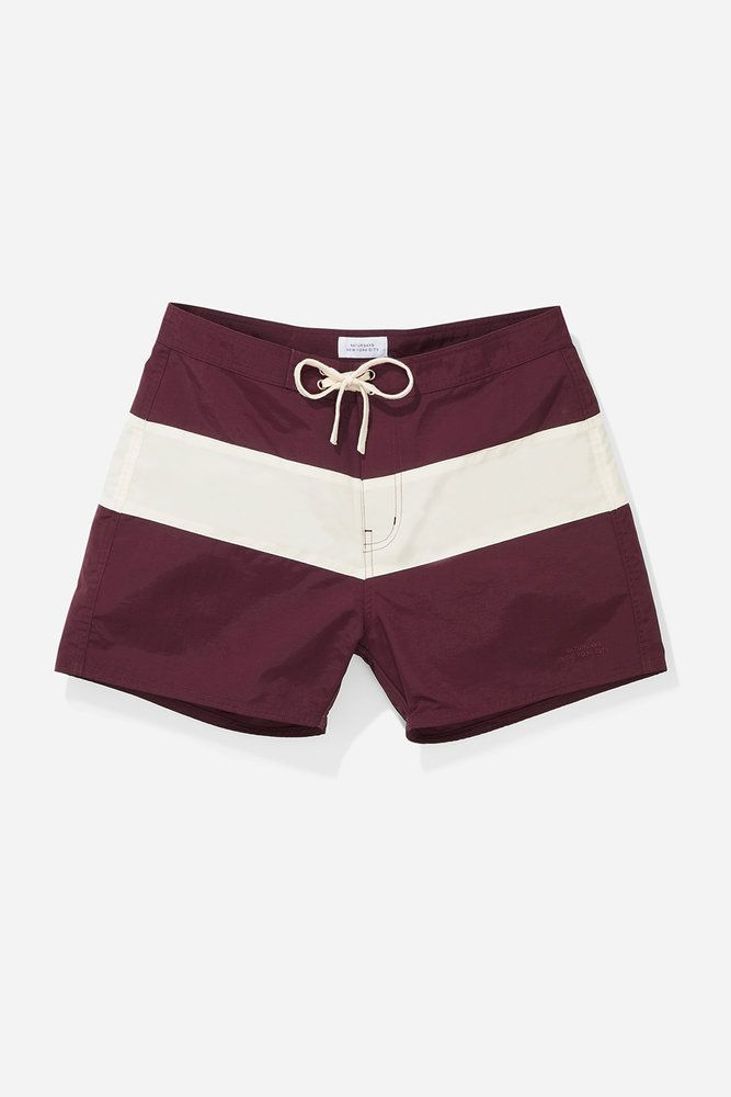 fa3affefc6 Grant Boardshort, Dark Mauve/Ivory | Saturdays NYC Spring '18 ...
