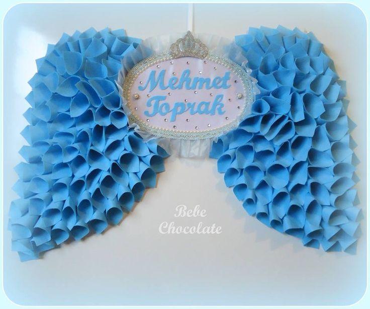 felt baby wreaths, melek kanadı anı defteri, felt angel wing, note book, handmadei angel wing, baby wreath ideas, baby wreath for hospital door