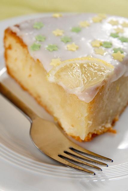 vegan: lemony french cake recipe...