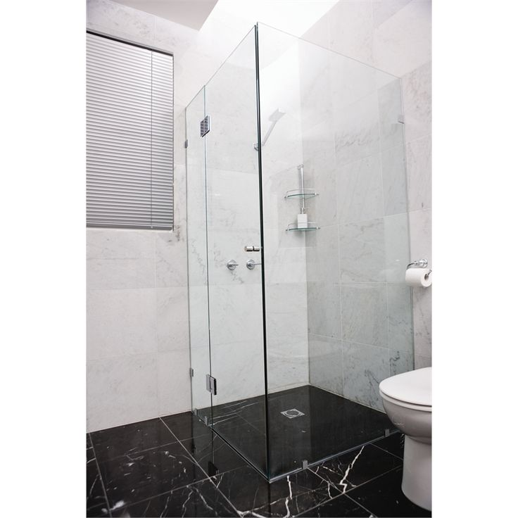 Highgrove 10 x 2000 x 1175mm Frameless Glass Shower Panel Kit I/N 4890230 | Bunnings Warehouse