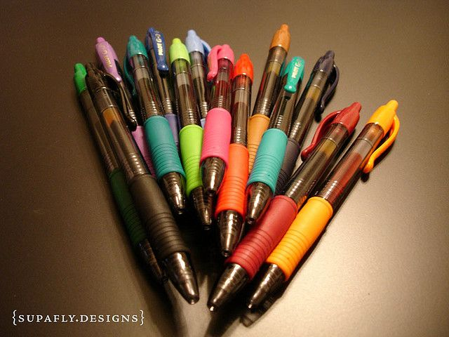 Gel Pens I Love Pens Pics Of Colorful Pens
