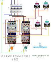 Esquemas eléctricos: Marcha y paro de dos motores alternativos