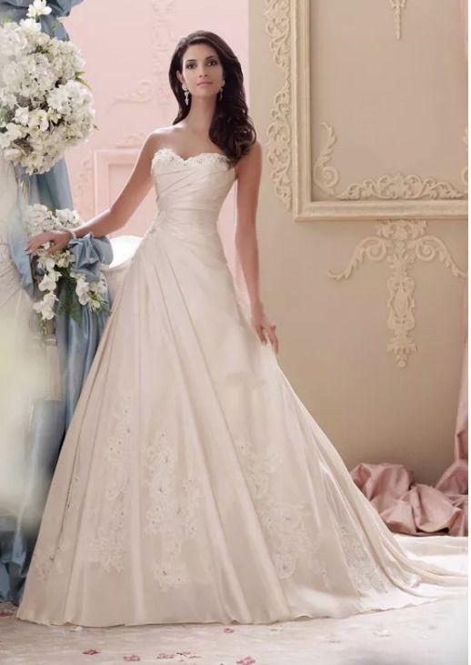 david tutera mon cheri 115233 apple bridal wedding dress champagne