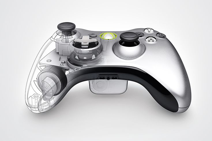 Unreal x-ray rendering by cincodesign.com for Microsoft.