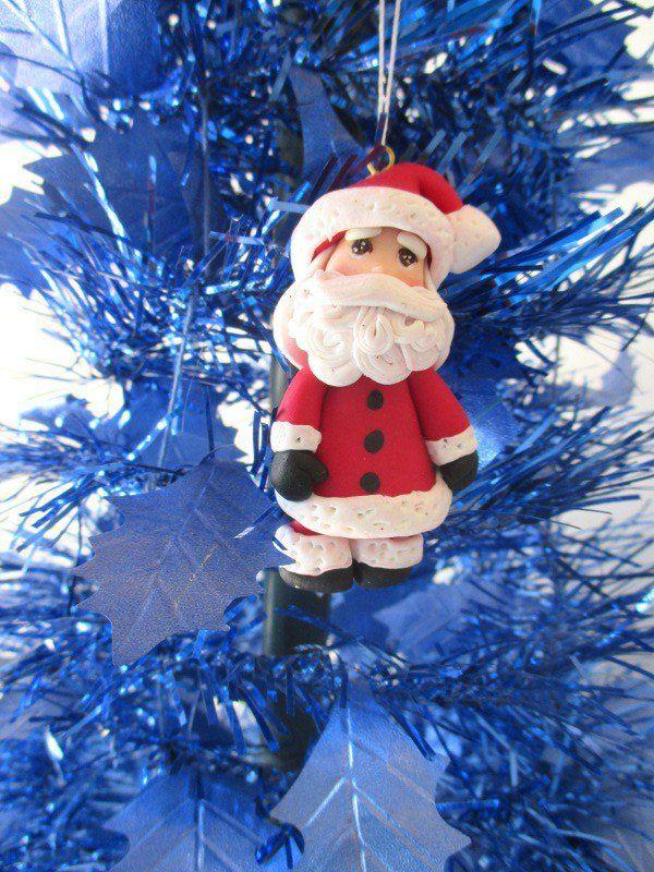 Decorazione per albero Babbo Natale, by Magicla, 5,00 € su misshobby.com