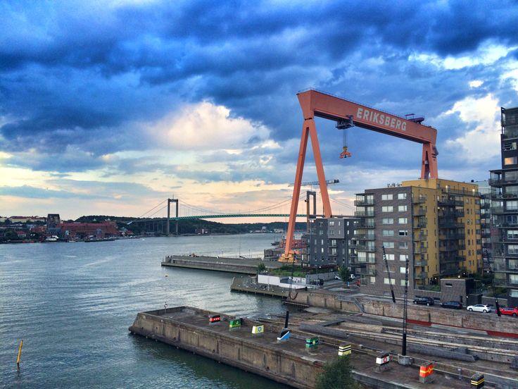 Älvsborgsbron + Eriksbergskranen