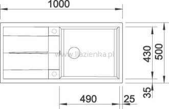 BLANCO METRA XL 6S SILGRANIT® Puraur® II zlew granitowy - 1lazienka.pl Taniej niż myślisz