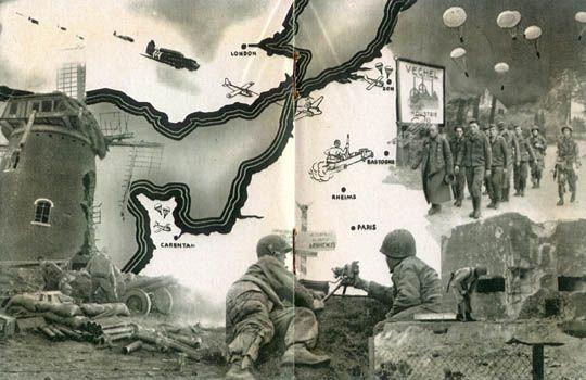 [101e Division aéroportée: WWII Carte]