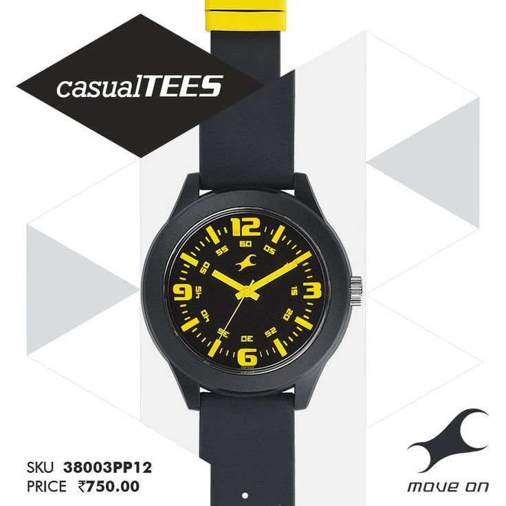 Turn it on. #CasualTEES http://fastrack.in/casualtees/