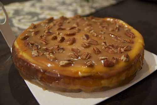 Salted Caramel Pecan Cheesecake | AHHHH!!! GOOD FOOD and DRINKS ...