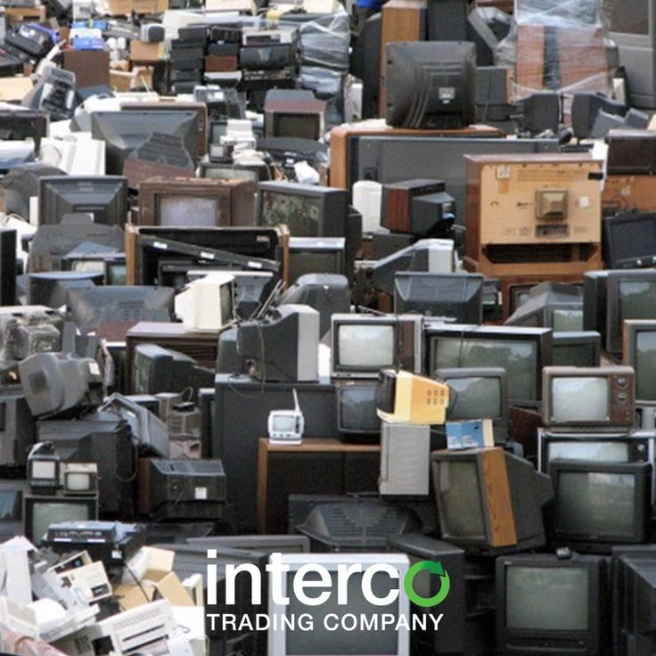 Do your old TV's a favor, give them a new life and Recycle! #LifeofTV #IntercoRecycles #Interco #Scrap #TV
