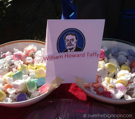 Presidents Day Party and Run with Fun Presidential Foods!   Over The Big Moon