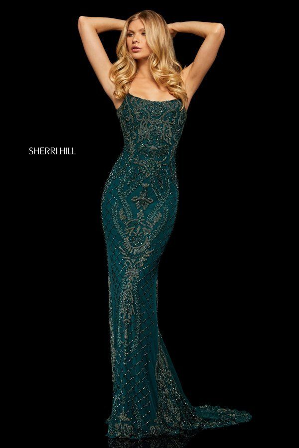 3f696feaf Sherri Hill Style 52454 Teal Size 14 | 2019 PROM! in 2019 | Prom ...