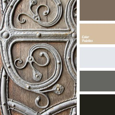 This palette should be classified as entirely warm, because despite the dominating shades of gray, warm brown and the color of milk chocolate add warmth to.