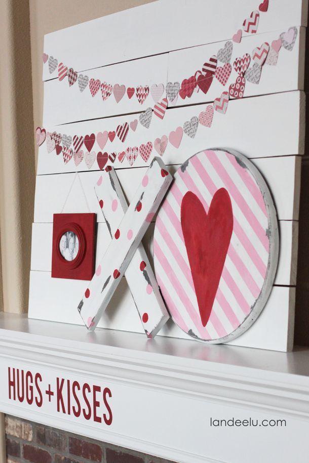 Diy Valentine S Day And Love Signs Valentines Pinterest