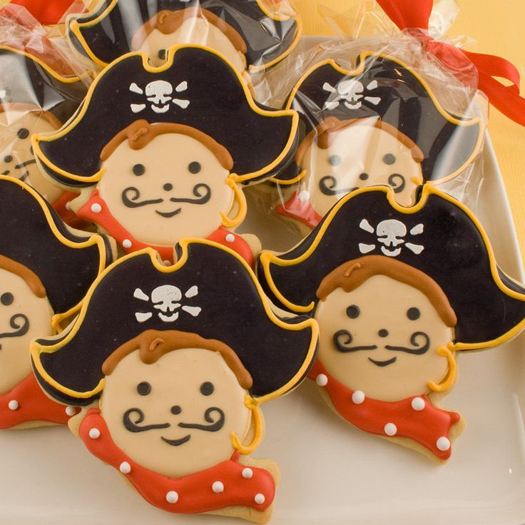 Pirate Sugar Cookies Won't Pillage Your Taste Buds - Foodista.com