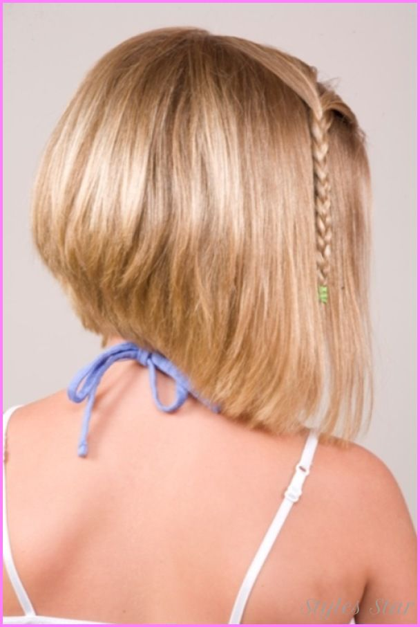 Kids short haircuts with bangs - http://stylesstar.com/kids-short-haircuts-bangs.html