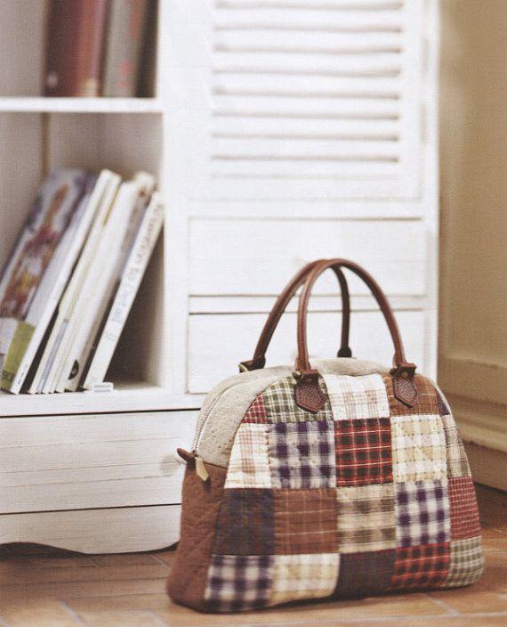 No.53 PDF Pattern of How to Overnight handbag by DIYPATTERNSHOP