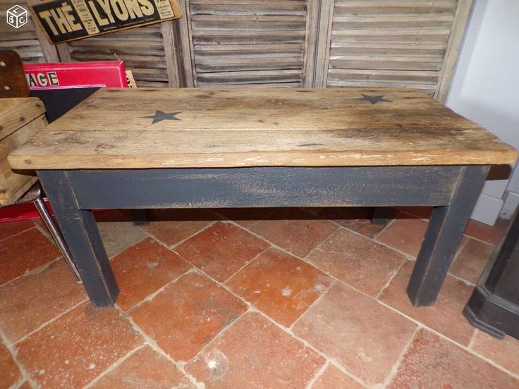 Table Basse Carree Bois Conforama ~ Table Basse Factory Ameublement Sarthe  Leboncoin Fr