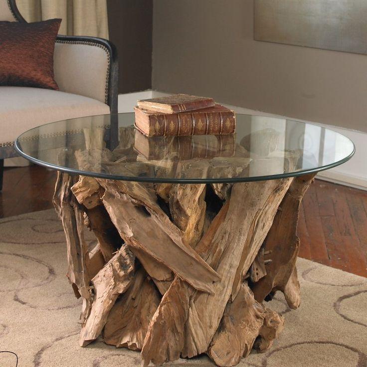 Best 25 driftwood coffee table ideas on pinterest for White driftwood coffee table
