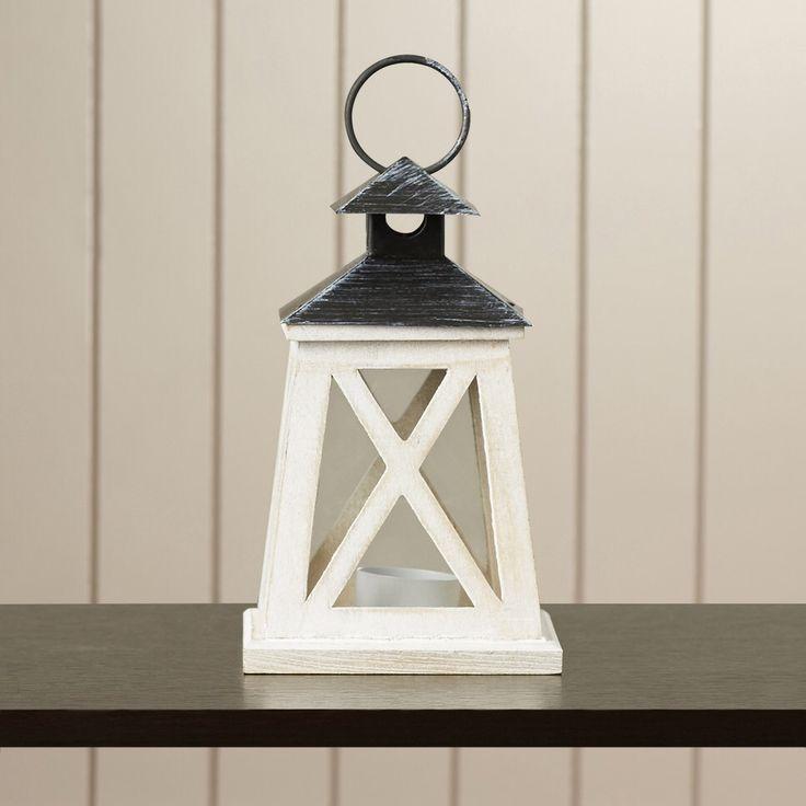 Geneva Wooden Lantern
