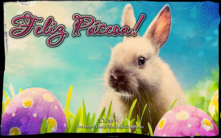 Páscoa é Amor, Fraternidade e União.     Aproveite todas as delícias da Páscoa.       FELIZ PÁSCOA!       Beijos mil! :-)   Criss  ...