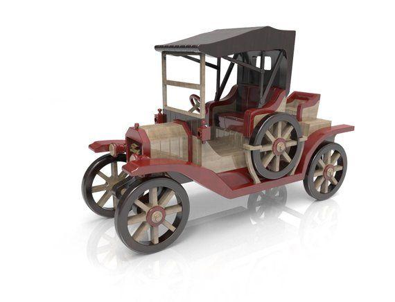 Model T Ford Autitos De Madera Bicicleta De Madera Autos De Madera