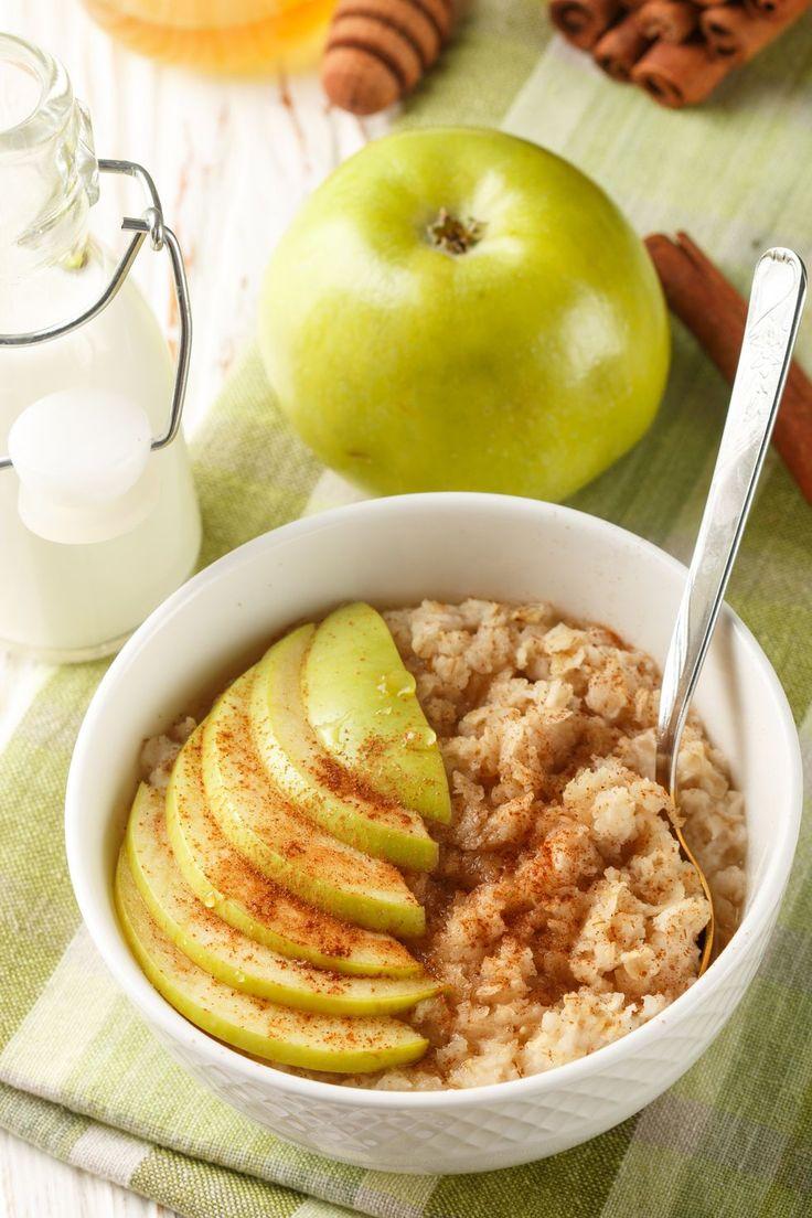Диета завтрак яблоко