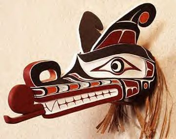 Native American Masks | SISIUTL HEADDRESS-ANTHONY DAWKINS-KWAKWAKA'WAKW