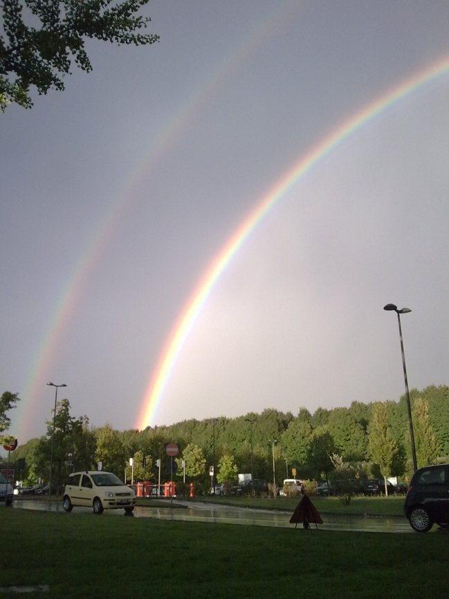 Rainbow in Lucca - Tuscany - Italy