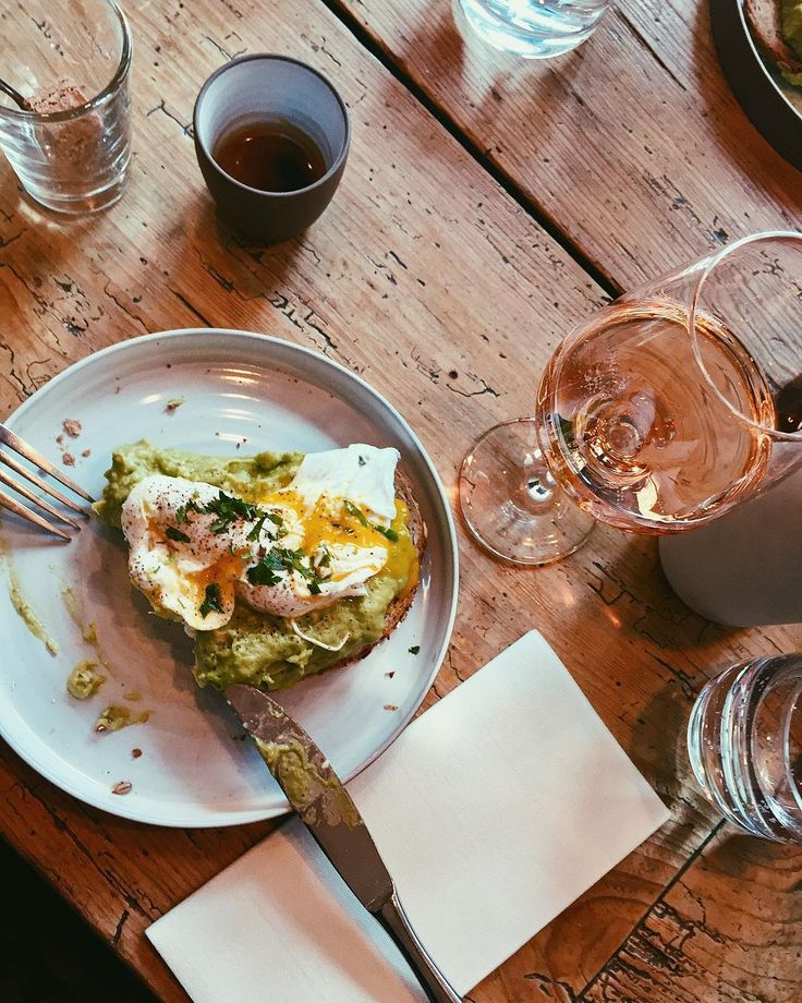 All I need in this life, summarized in the picture  | Avocado toast with poached eggs, rosé wine & espresso ☕️ .  .  .  #food #foodporn #yum #instafood #socialenvy #shopstemdesigns #yummy #amazing #instagood #photooftheday #breakfast #fresh #tasty #food #delish #delicious #eating #foodpic #foodpics #eat #hungry #foodgasm #foods #avocado #brunch #eggs #winelovers #vsco #vscocam