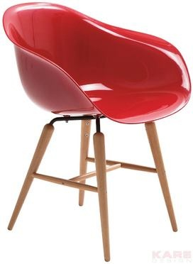 Material: frame: steel chrome-plated, seat: ABS plastic